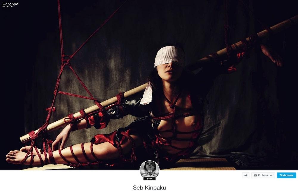 seb kinbaku / Shibari artist Paris