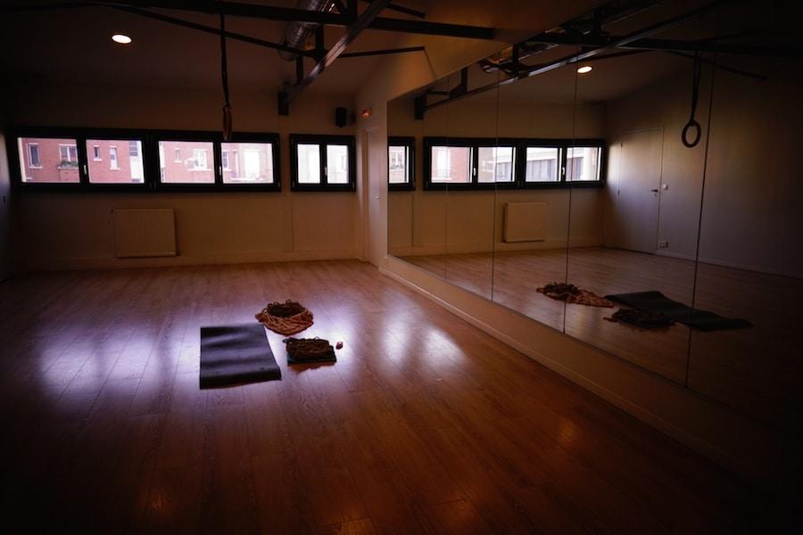 Salle cours privé shibari Paris