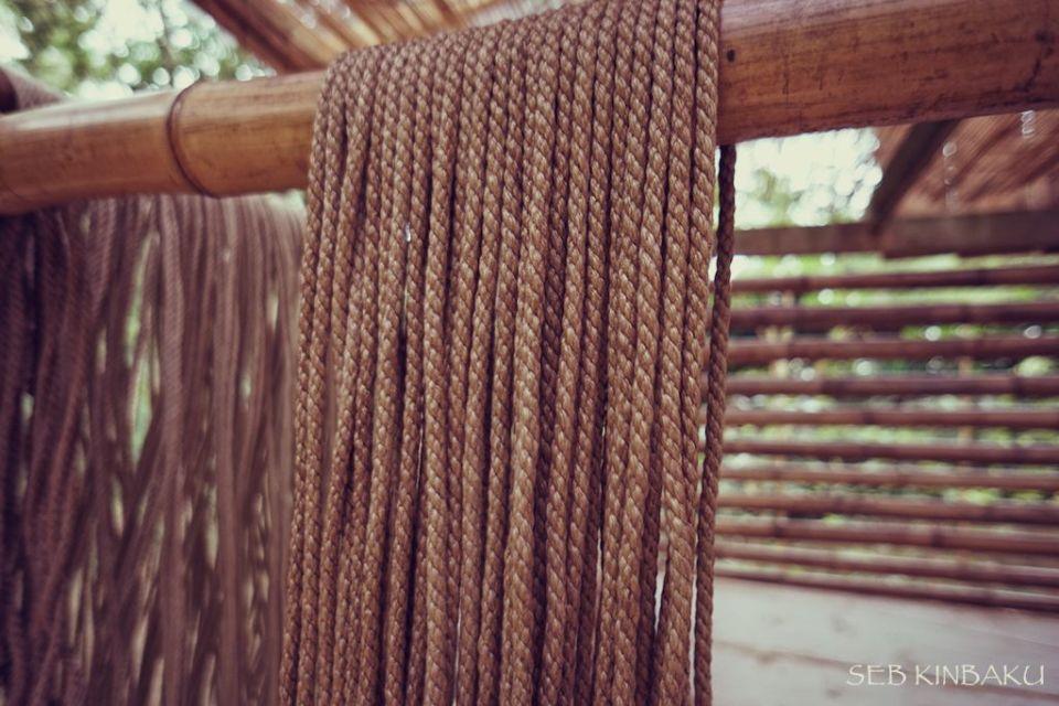 cordes kinbaku shibari jute
