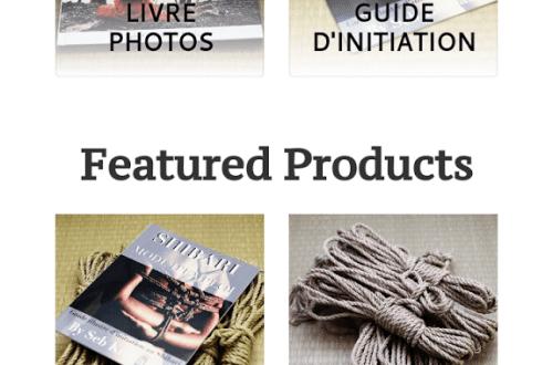 boutique shibari seb kinbaku : cordes shibari jute et chanvre