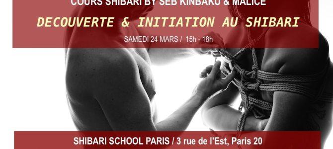 Découverte & Initiation au Shibari avec Seb Kinbaku & Malice