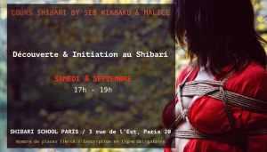 Cours Shibari Paris