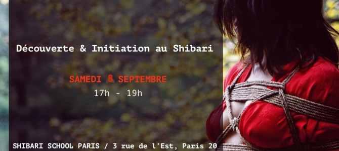 Initiation au Shibari Paris / Cours débutant