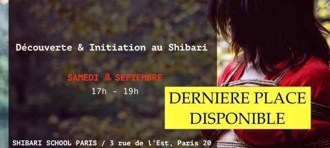 Découverte et Initiation au Shibari à Paris