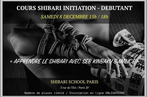Apprendre le shibari avec Seb Kinbaku