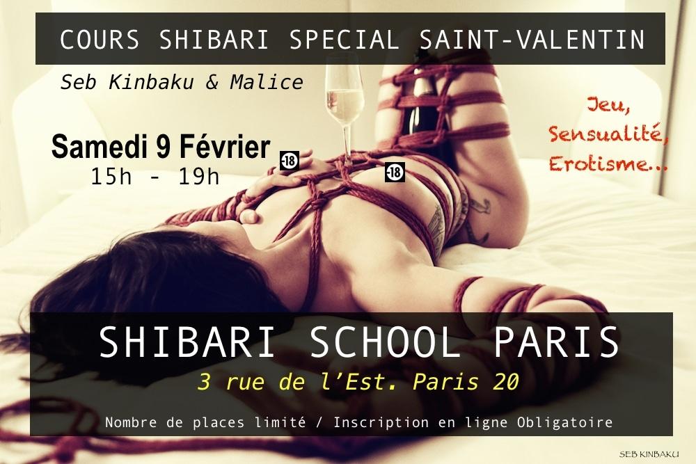 Apprendre le shibari à Paris avec Seb Kinbaku
