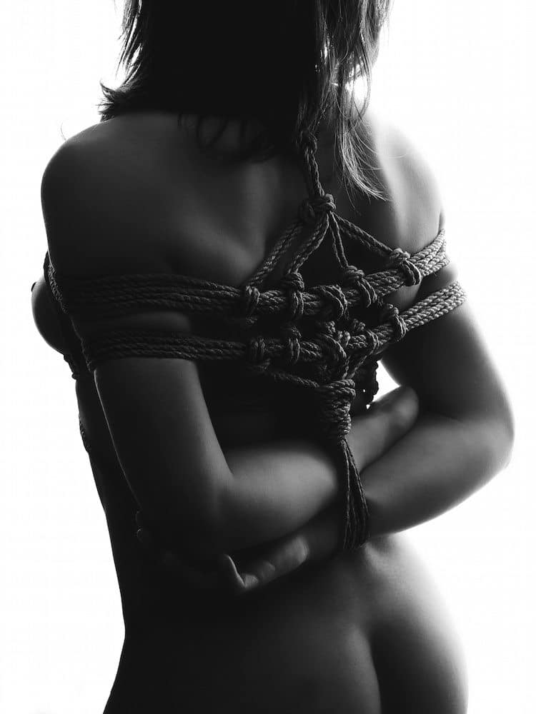 photo shibari rope lessons fine art