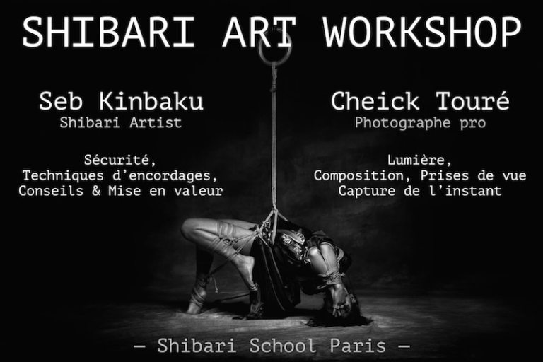 shibari art workshop par seb kinbaku