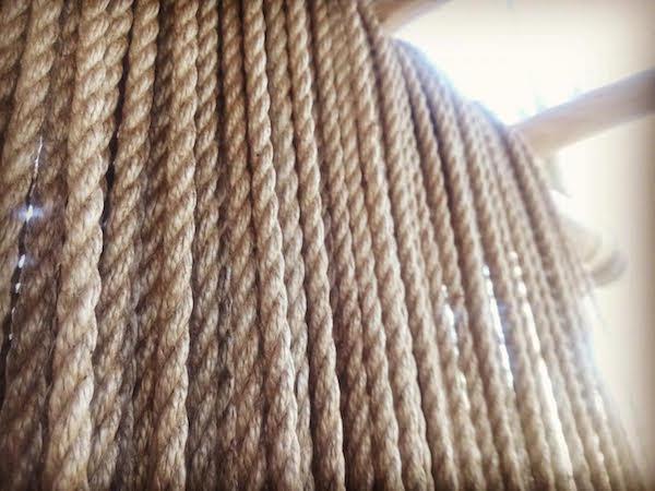 shibari cordes jute par Seb Kinbaku