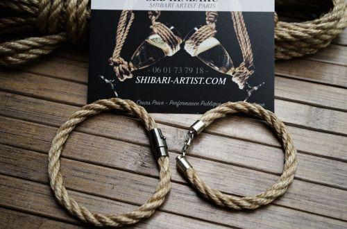 Bracelet shibari bdsm