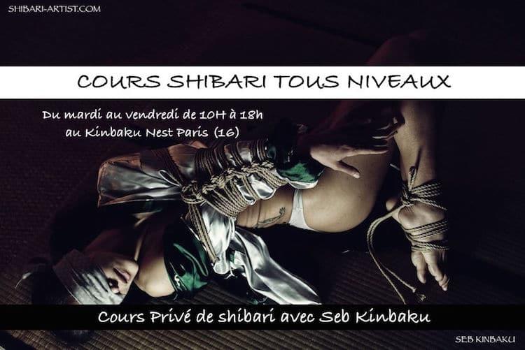 Cours de shibari avec Seb Kinbaku
