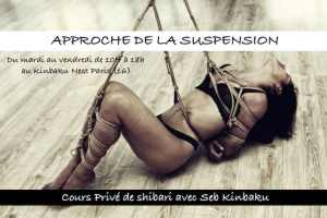 Apprendre les suspensions shibari avec Seb Kinbaku