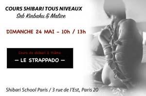 Cours shibari mai 2020 paris