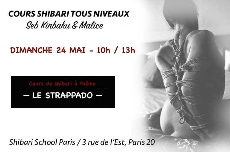 Cours Shibari Strappado