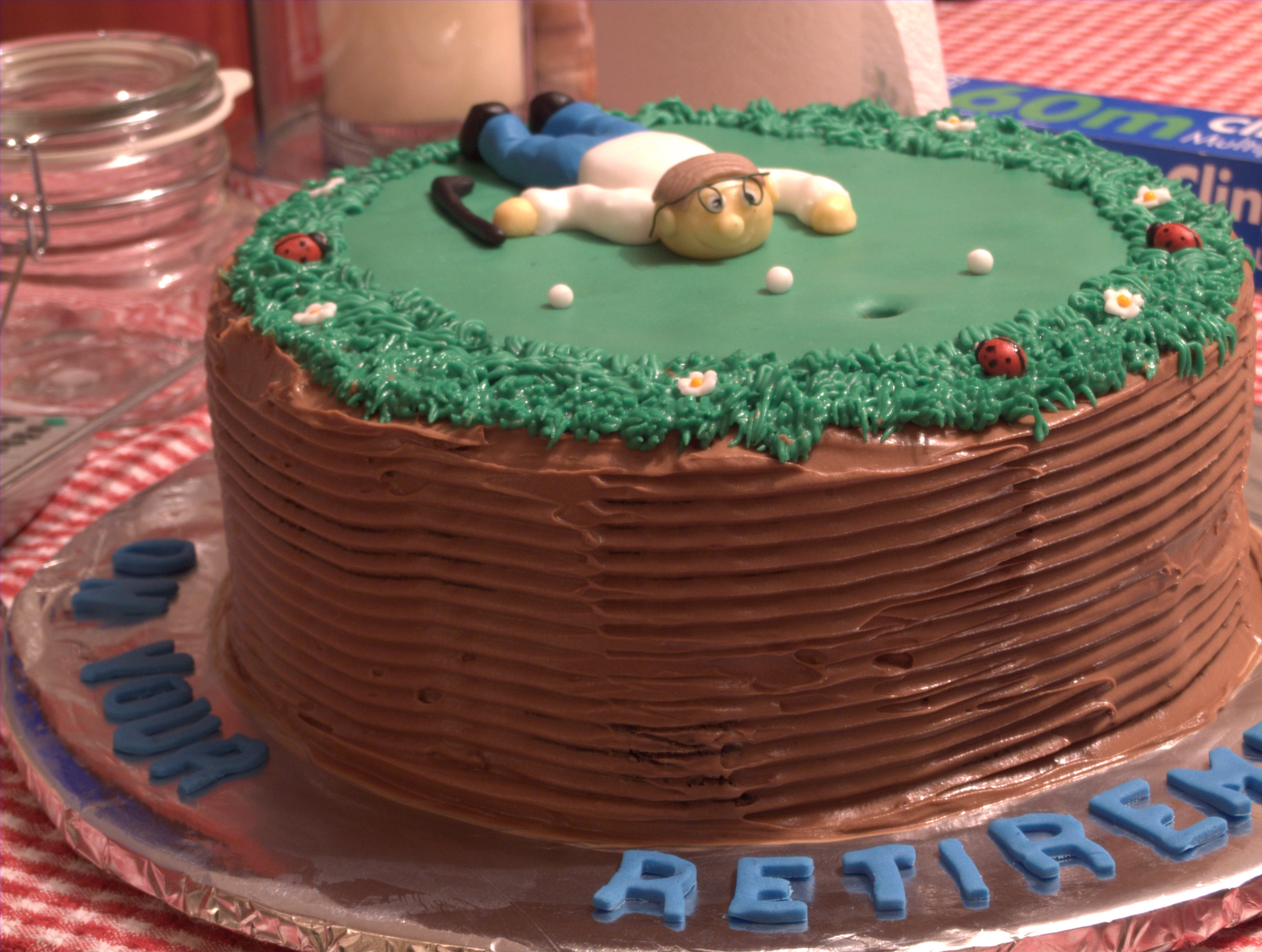 Golf Retirement Cakes Cake Ideas And Designs