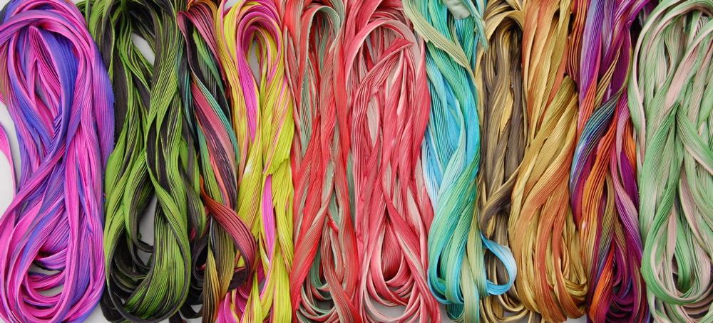 shibori ribbon- to inspire and create!