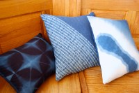 indigo pillows-each side is interesting