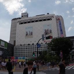 駅前交差点東急東横店方面