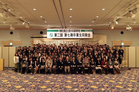 七里ガ浜高校第七期卒業生(1985年3月卒)同期会開催報告