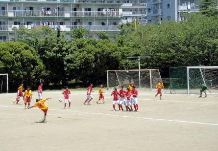 サッカー選手権の県1次予選の結果