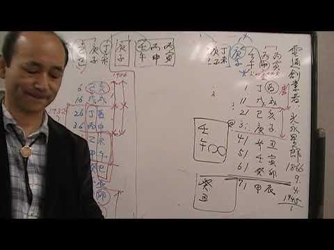 自然法算命学の占いチャンネル(512)電通,華原朋美さんの命式を占う -2/3