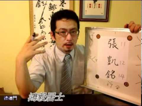 鴻毅居士姓名學-張凱銘