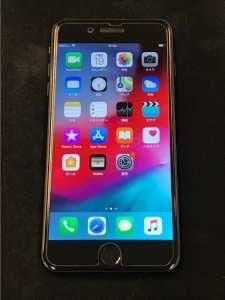 買取りしたiPhone7Plusの液晶面