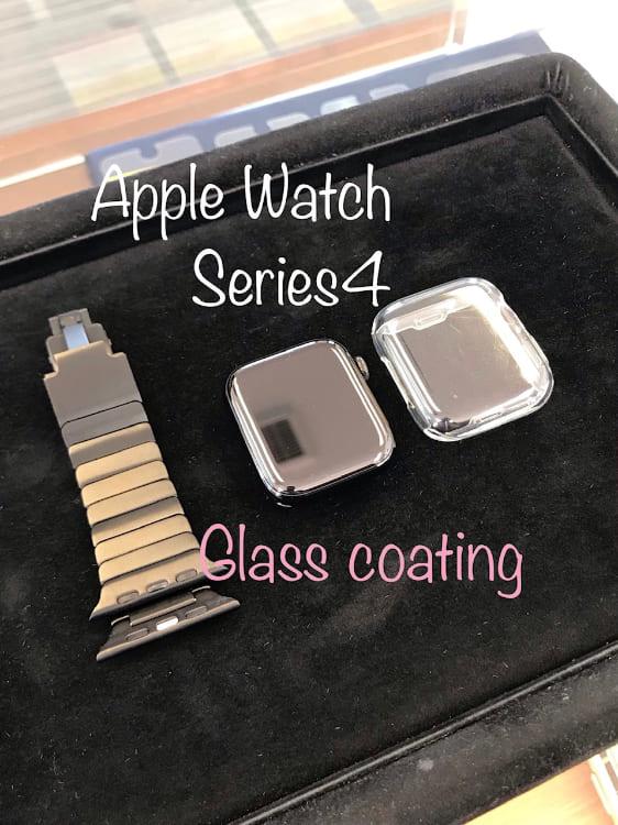 アップルウォッチをガラスコーティング