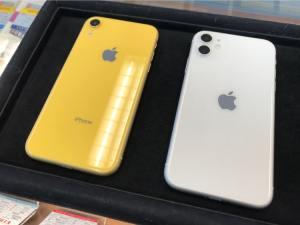 iPhone11とiPhoneXRをガラスコーティング