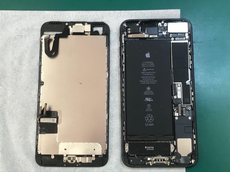 iPhone7Plusの画面交換修理