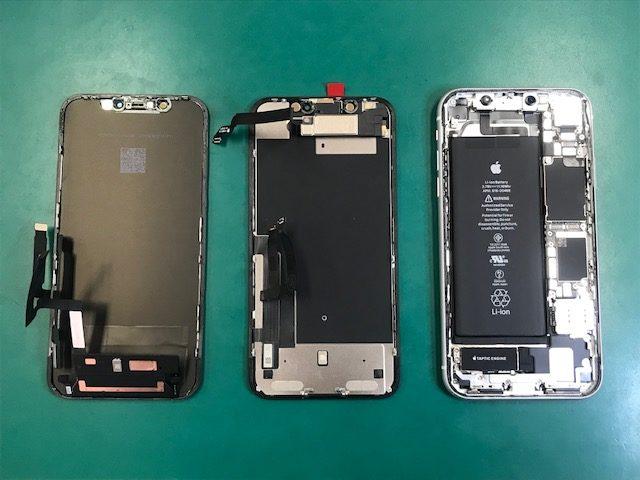 iPhoneXR画面交換修理