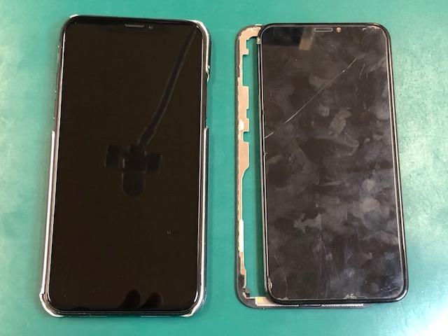 iPhoneX画面修理
