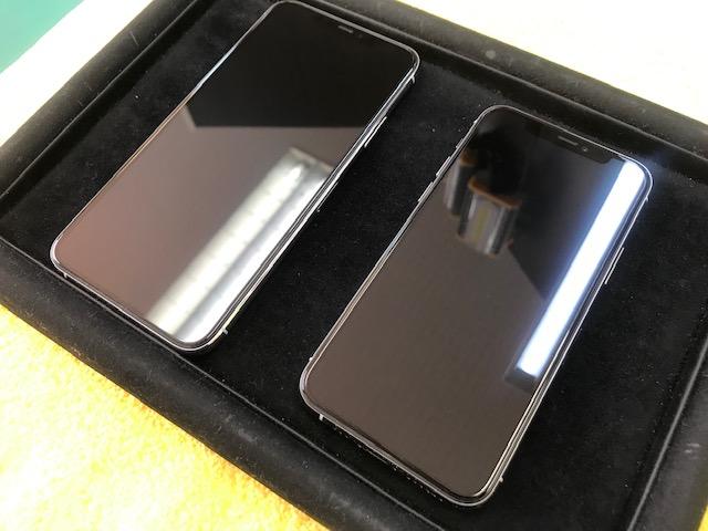 iPhone11ProMaxと11Proの2台をガラスコーティングさせていただきました! | 岡崎・豊田 iPhone(アイフォン)修理ならシールド岡崎店へ!iPhone修理なら即日対応のシールドにお任せ!
