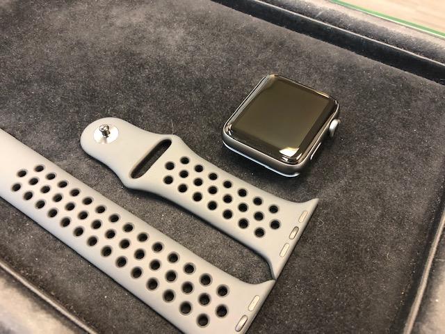 Apple watch3をガラスコーティング