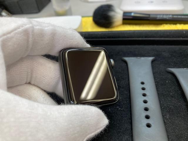 AppleWatch3のガラスコーティング