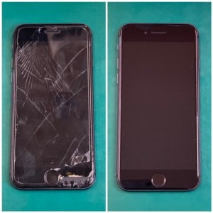 iPhone8画面ビフォーアフター