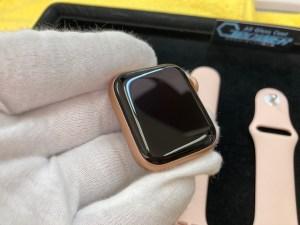 アップルウォッチ6をガラスコーティング