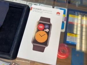 HUAWEI WatchFitをガラスコーティング
