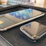 iPhoneSEとAppleWatchSEをガラスコーティング