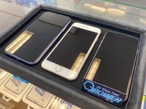 iPhoneをガラスコーティング
