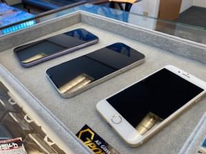 iPhone12Proを含む三台をガラスコーティング