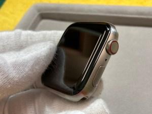 アップルウォッチ6チタンをガラスコーティング!