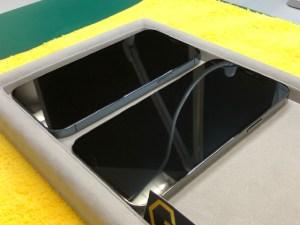 iPhone12ProMaxをまとめてガラスコーティング