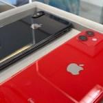 iPhone11とiPhoneXをガラスコーティング