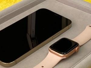 iPhone12とアップルウォッチをガラスコーティング