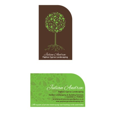 Julian Andrew business cards - Designed by Shields