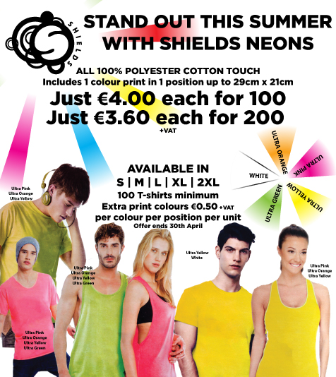 Shields T-Shirt Offer 2