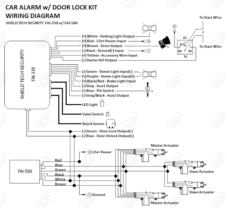 avital remote starter wiring diagram. Black Bedroom Furniture Sets. Home Design Ideas