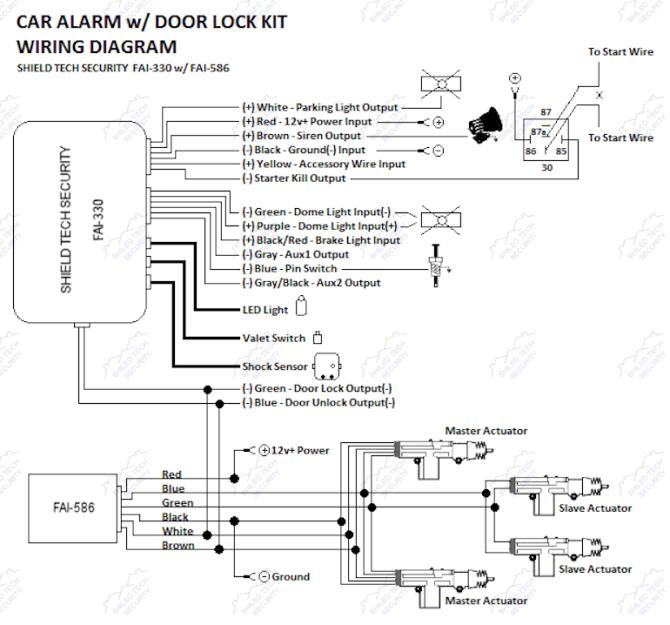 1992 mustang car alarm wiring diagram  save wiring diagrams