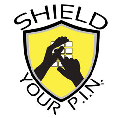 Shield Your P.I.N. Logo. 250px